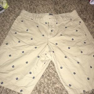 Gap Khaki Shorts Anchors Men's 28